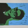 Selbstporträts als Mehrfarben-Linolschnitt_11