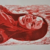 Selbstporträts als Mehrfarben-Linolschnitt_17