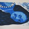 Selbstporträts als Mehrfarben-Linolschnitt_3