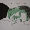 Selbstporträts als Mehrfarben-Linolschnitt_5