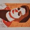 Selbstporträts als Mehrfarben-Linolschnitt_6