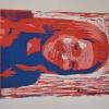 Selbstporträts als Mehrfarben-Linolschnitt_7