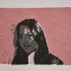 Selbstporträts als Mehrfarben-Linolschnitt_8